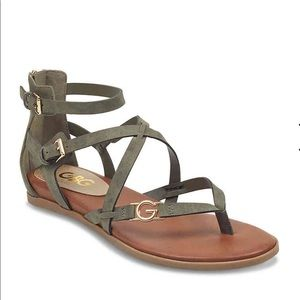 G BY GUESS CARLYN GLADIATOR SANDAL